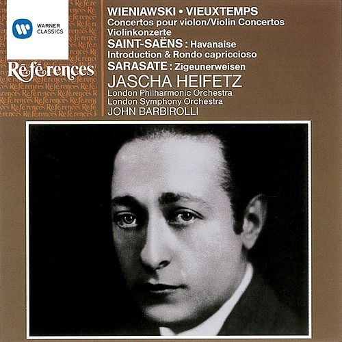 Jascha Heifetz - Violin Works by Various Artists