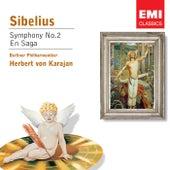 Sibelius: Symphony No.2 in D, Op.43 by Herbert Von Karajan