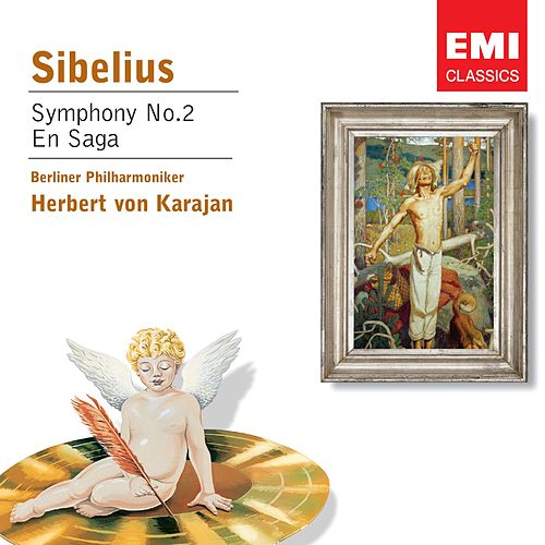Sibelius: Symphony No.2 in D, Op.43 von Herbert Von Karajan