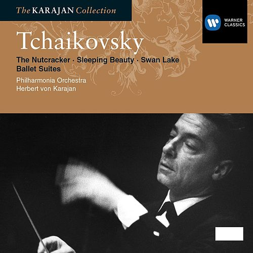 Tchaikovsky: Nutcraker Suite, Swan Lake Suite, Sleeping Beauty Suite by Philharmonia Orchestra