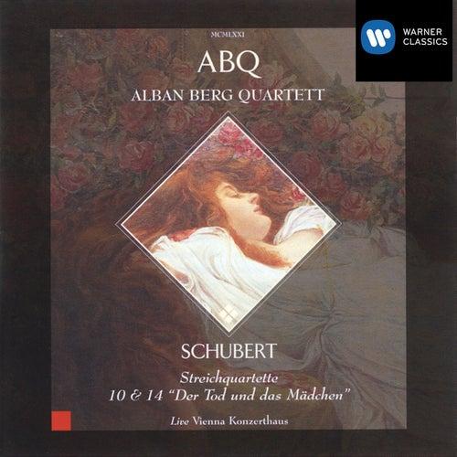 Alban Berg Quartett, String Quartets 10 & 14 - Schubert by Various Artists