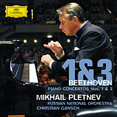 Beethoven: Piano Concertos Nos. 1 & 3 by Mikhail Pletnev