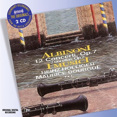 Albinoni: 12 Concertos, Op.7 by Various Artists