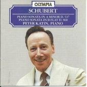Franz Schubert: Piano Sonatas, D 537 & D 960 by Peter Katin