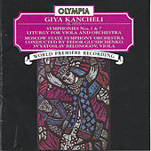 Giya Kancheli: Symphonies 1 & 7; Liturgy by viola Svyatoslav Belonogov