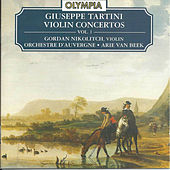 Giuseppe Tartini: Violin Concertos, Vol.1 by violin Gordan Nikolitch