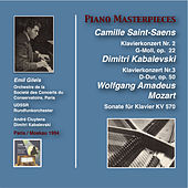 Piano Masterpieces: Emil Gilels Plays Saint-Saëns, Kabalevski & Mozart (Recorded 1954) by Emil Gilels