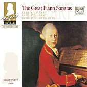 Mozart: The Great Piano Sonatas by Klára Würtz