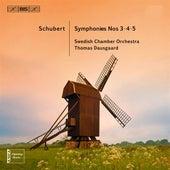 Schubert: Symphonies Nos. 3-5 by Örebro Swedish Chamber Orchestra