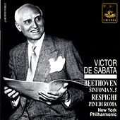 Beethoven: Symphony No. 5 & Respighi: Pini Di Roma by Victor de Sabata