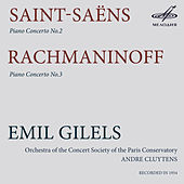 Saint-Saëns & Rachmaninoff: Piano Concertos by Emil Gilels