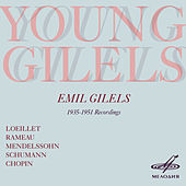 Young Gilels by Emil Gilels
