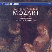 Mozart: 4 Horn Concertos by Mozart Festival Orchestra