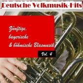 Deutsche Volksmusik Hits - Zünftige, bayerische & böhmische Blasmusik, Vol. 4 by Various Artists