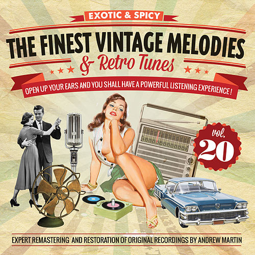 The Finest Vintage Melodies & Retro Tunes Vol. 20 by Various Artists