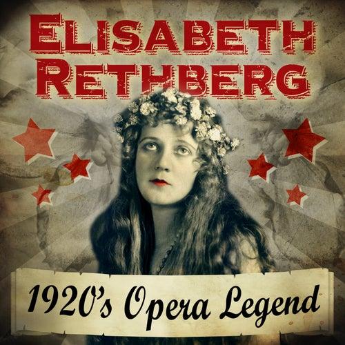 1920's Opera Legend by Elisabeth Rethberg