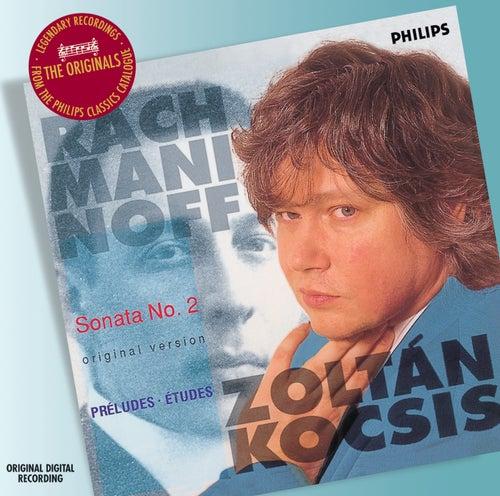 Rachmaninov: Piano Sonata No.2/Etudes by Zoltán Kocsis