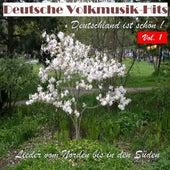 Deutsche Volksmusik Hits - Deutschland ist schön! Lieder vom Norden bis in den Süden, Vol. 1 by Various Artists