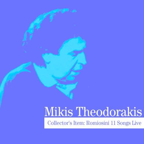 Collector's Item: Romiosini 11 Songs Live by Mikis Theodorakis (Μίκης Θεοδωράκης)