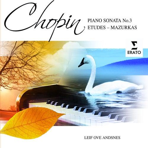 Chopin: Piano Sonata No 3; Etudes; Mazurkas by Leif Ove Andsnes