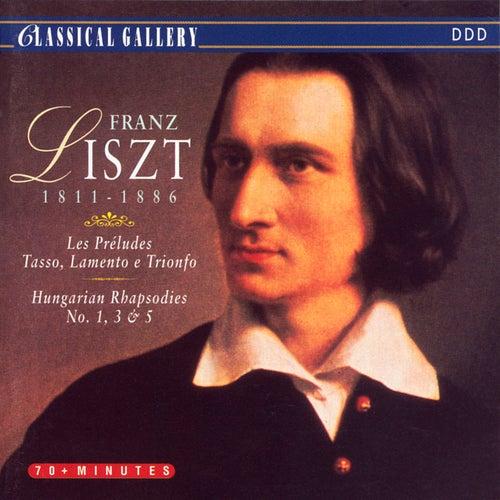 Liszt: Les Preludes, Tasso, Lamento e Trionfo, Hungarian Rhapsodies Nos. 1, 3, & 5 by New York Philharmonic