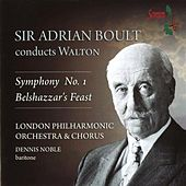 Walton: Symphony No. 1 & Belshazzar's Feast by Various Artists