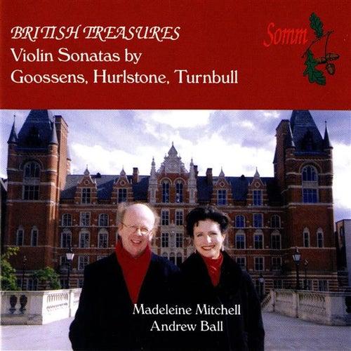 British Treasures - Violin Sonatas by Madeleine Mitchell