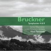 Bruckner: Symphonies 4 & 8 by Various Artists