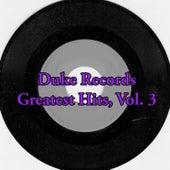 Duke Records Greatest Hits, Vol. 3 von Various Artists