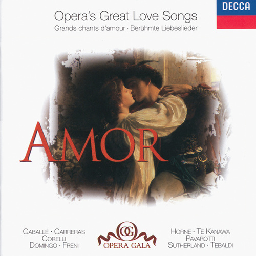 Amor - Opera's Great Love Songs by Various Artists