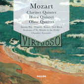 Mozart: Clarinet Quintet; Horn Quintet; Oboe Quartet by Academy Of St. Martin-In-The-Fields Chamber Ensemble