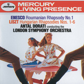 Enesco: Roumanian Rhapsody No.1 / Liszt: Hungarian Rhapsodies Nos.1-6 by London Symphony Orchestra