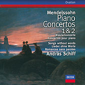 Mendelssohn: Piano Concertos Nos.1 & 2; Songs without words by András Schiff