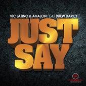 Just Say by Vic Latino