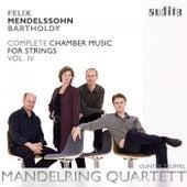 Felix Mendelssohn: String Quintets (Vol. 4 of the Mandelring Quartett's Complete Recording of Mendelssohn Bartholdy's Chamber Music for Strings) by Gunter Teuffel