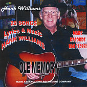 Ole Memory by Hank Williams