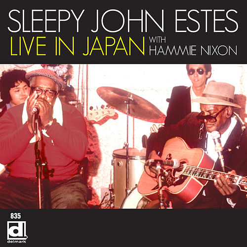 Live in Japan with Hammie Nixon by Sleepy John Estes