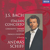 Bach, J.S.: Italian Concerto; Four Duets; French Overture etc. by András Schiff
