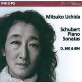 Schubert: Piano Sonatas Nos.15 & 18 by Mitsuko Uchida