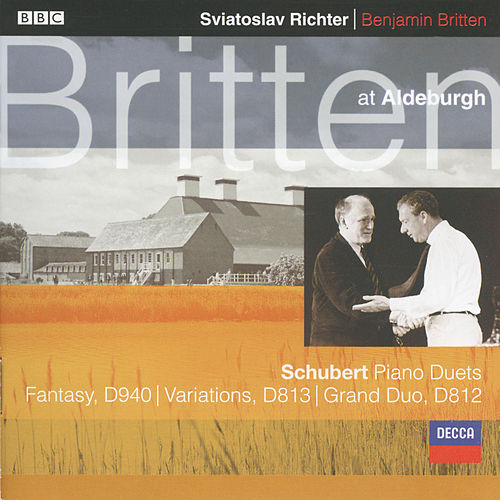 Schubert: Fantasy In F minor For Piano Duet; Grand Duo Sonata in C etc. by Sviatoslav Richter