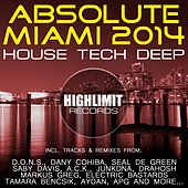 Absolute Miami 2014 - House Tech Deep - EP by Various Artists
