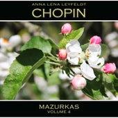Chopin: Mazurkas, Vol. 4 by Anna Lena Leyfeldt