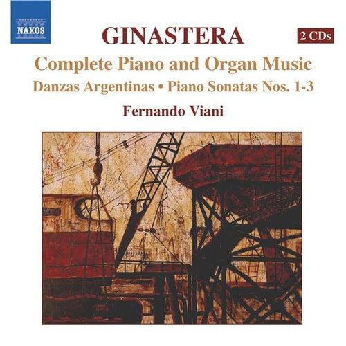 GINASTERA: Complete Piano & Organ Music by Fernando Viani
