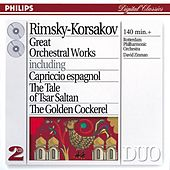 Rimsky-Korsakov: Great Orchestral Works by Various Artists