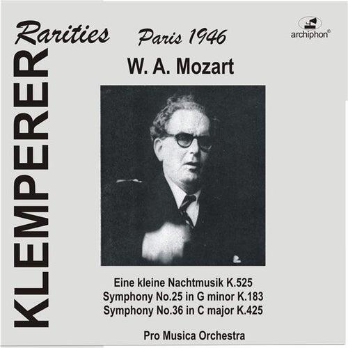 Mozart: 'Eine kleine Nachtmusik', Symphonies Nos. 25 & 36 by Pro Musica Orchestra