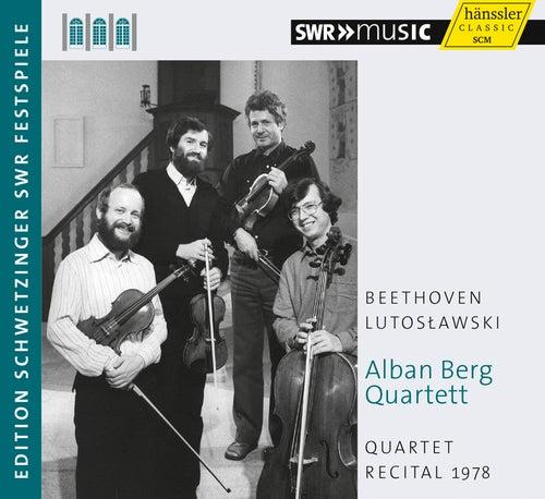 Quartet Recital 1978 by Alban Berg Quartet
