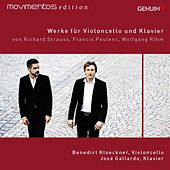Strauss, Poulenc, & Rihm: Werke für Violoncello und Klavier by Benedict Kloeckner