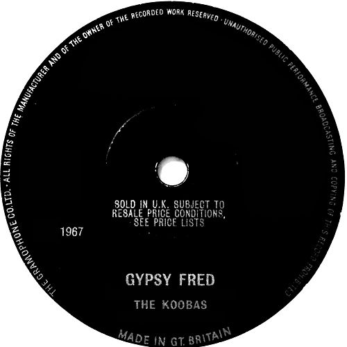 Gypsy Fred by The Koobas
