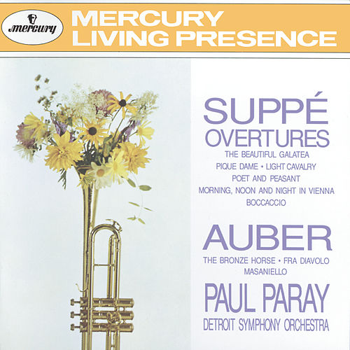 Suppé: Overtures / Auber: The Bronze Horse, etc. by Detroit Symphony Orchestra