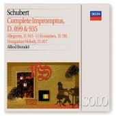 Schubert: Complete Impromptus, D899 & D935; 11 Ecossaises, &c by Alfred Brendel